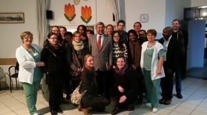 Leyden Akademy master hallgatóinak tanulmányi látogatása Otthonunkban